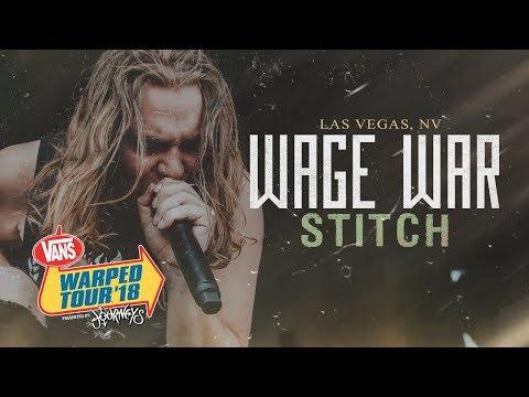 Wage War - Stitch LIVE! Vans Warped Tour 2018