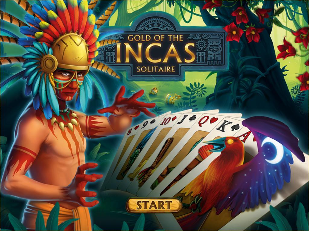 Золото инков пасьянс | Gold of the Incas Solitaire (En)