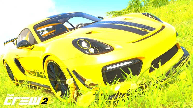 THE CREW 2 GOLD EDiTiON FUN-RACE (GAMEPLAY) PORSCHE Cayman GT4 Wasp Edition PART 1044 ...