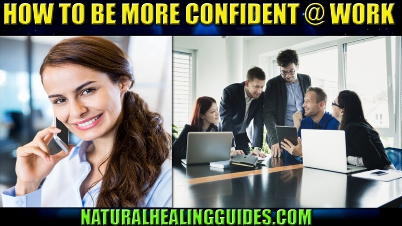How To Be CONFIDENT At WORK - Build Self Confidence Stop Feeling Inadequate At Work 👌✔️