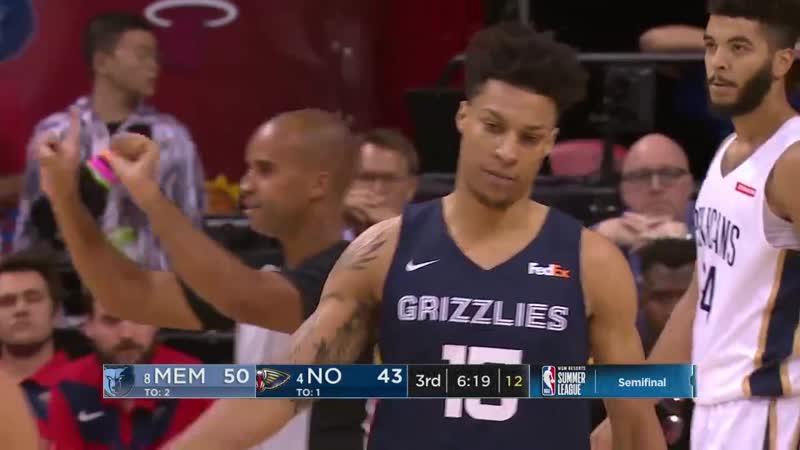 Memphis Grizzlies vs New Orleans Pelicans - Full Game | July 14, 2019 NBA Summer League