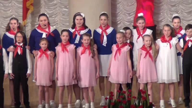 95 лет пионерии. Большой детский хор радио и телевидения России (ВГТРК), Орлята