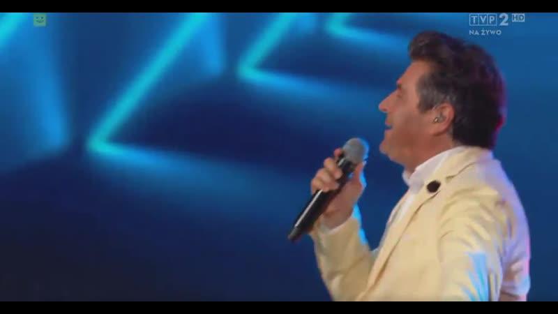 Thomas Anders Cheri Cheri Lady Lato Muzyka Zabawa Wakacyjna Trasa Dwójki 21 07 2019 TVP2