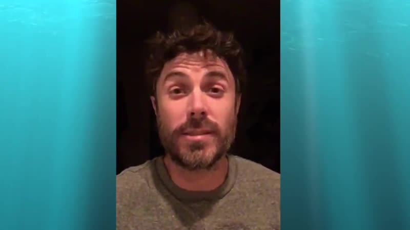 Casey Affleck invites all members of the armed forces and their families.