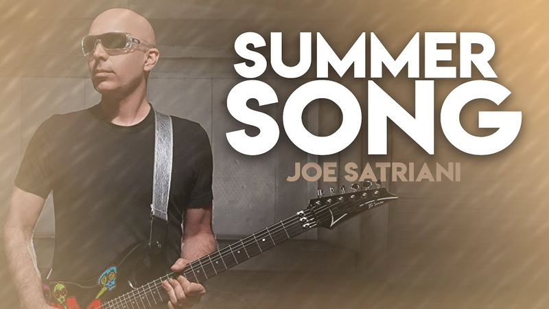 Fabian Dee Danners - Joe Satriani - Summer Song (4k Guitar, Drum Bass Cover)