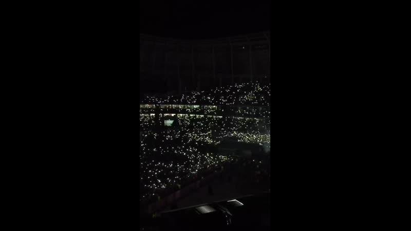 Концерт в Москве ❤Джей Ло💖Потрясные огоньки💛Зажгли вместе с ней ❤