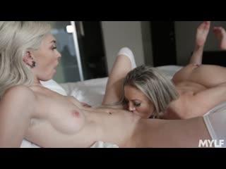 Chloe temple, carmen valentina - trying out some tribbing - porno, lesbian sex milf pussy licking, porn, порно