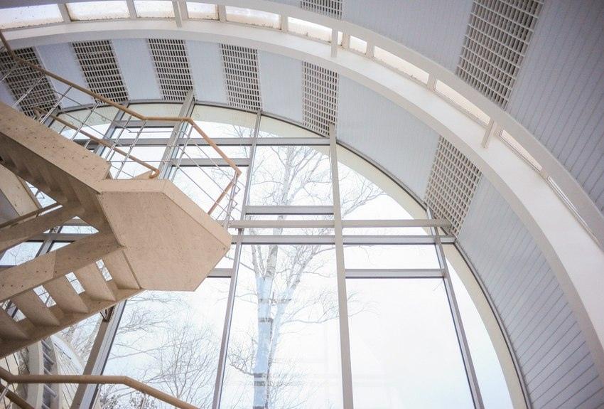 Вот такой дом в форме колец построил уральский профессор в Свердловской области