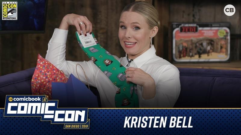 Kristen Bell Talks VERONICA MARS San Diego Comic Con 2019 Interview