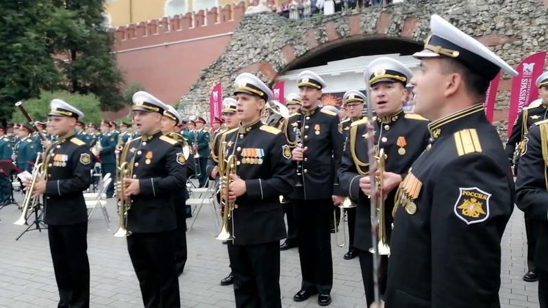 Совместный оркестр в Александровском саду 17.08.19 spasstower2019