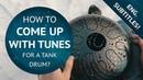 Как играть на глюкофоне (Как создавать мелодии на глюкофоне) How to play tank drum tutorial (lesson)