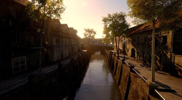 Вид города из обновления 0.3