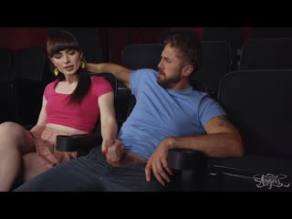 Natalie mars секс в кинотеатре анал ass anal минет (shemale, tgirl, tranny, sissy, femboy)