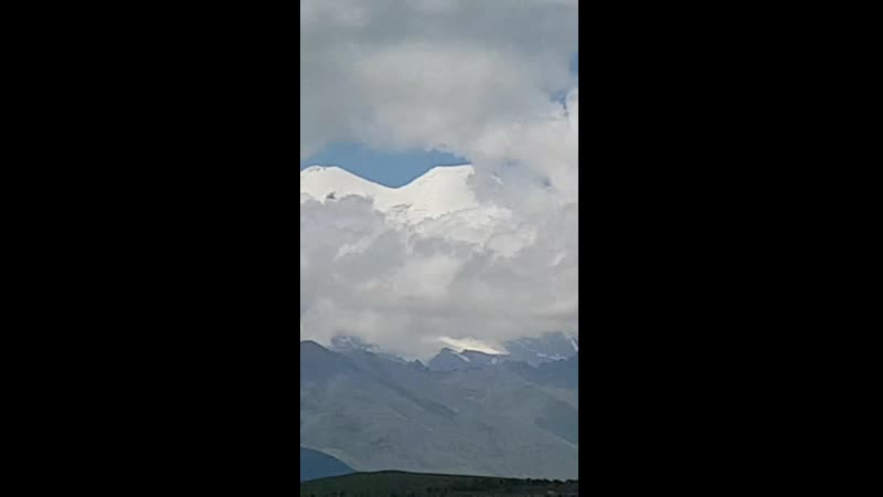 Дотянутся до облаков Кавказ Эльбрус
