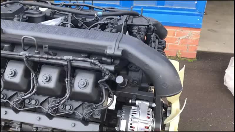 Двигатель КАМАЗ-740.662 COMMON RAIL 300л.с (ПАО КАМАЗ)
