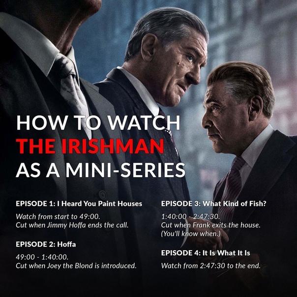 Мартин Скорсезе объяснил, почему «Ирландец» бы не работал в виде сериала