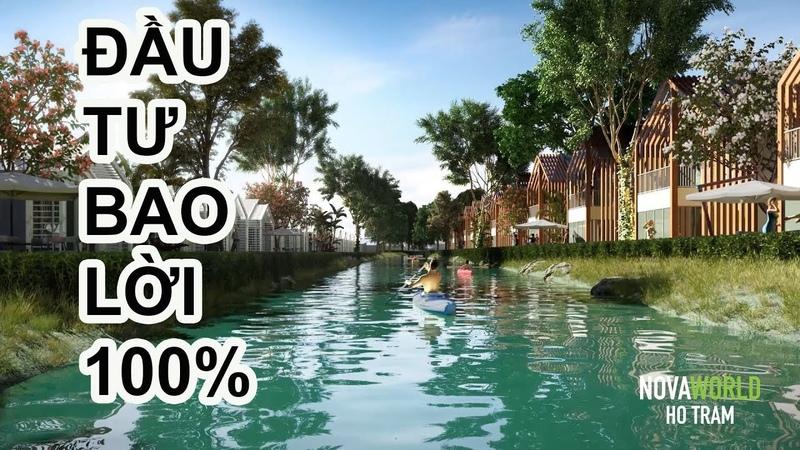 Chương trình bán hàng BAO LỜI 100% khi mua NovaWorld Hồ Tràm