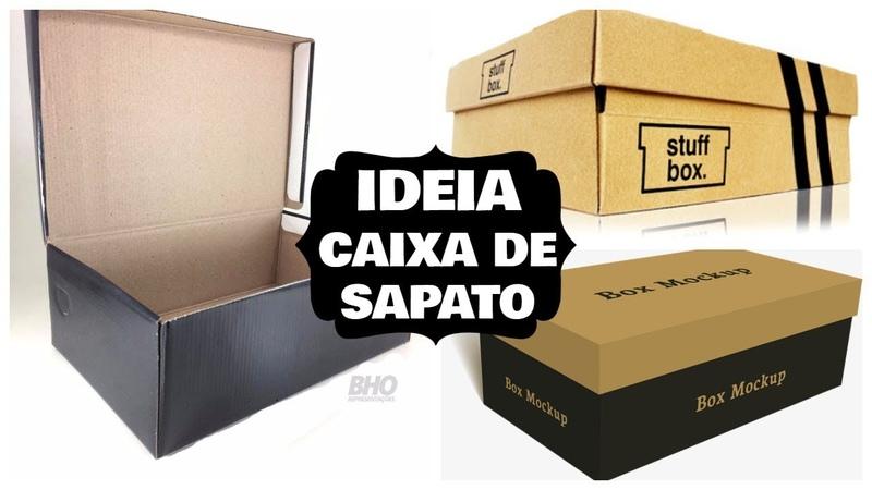 IDEIA COM CAIXA DE SAPATO | VALE A PENA VER DE NOVO | Viviane Magalhães