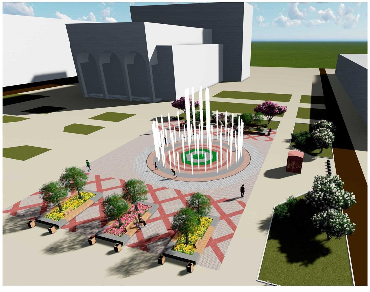 На портале «Действуем вместе» можно предложить свои идеи по реконструкции фонтана у драмтеатра