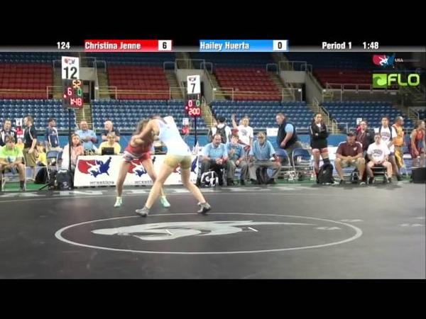 Cadet WM 124 - Christina Jenne (California) vs. Hailey Huerta (North Dakota)