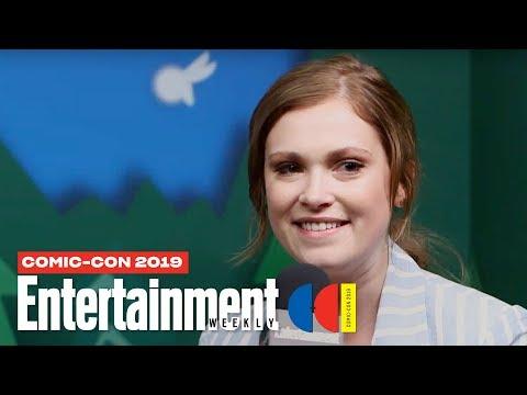 'The 100' Stars Eliza Taylor Richard Harmon LIVE | SDCC 2019 | Entertainment Weekly