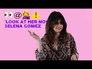 Selena gomez guesses songs in the emoji game