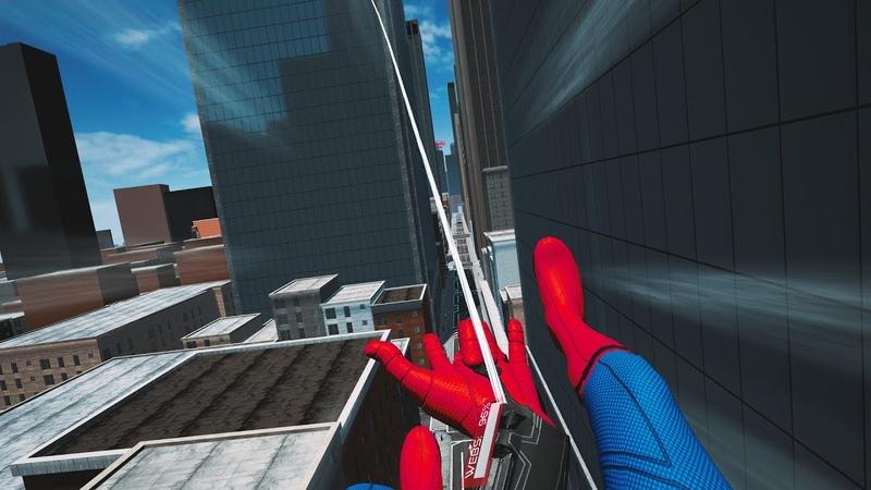 Человек-Паук: Вдали от Дома Виртуальная реальность - Spider-Man Virtual Reality trailer