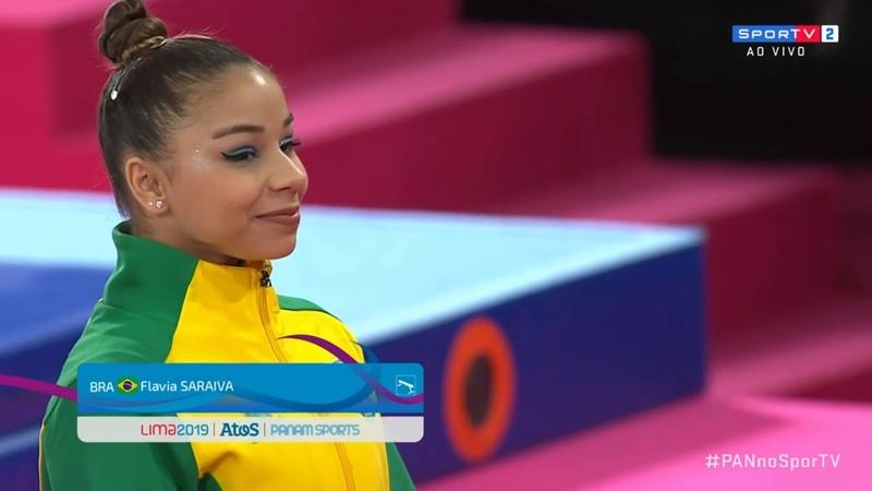 Панамериканские игры 2019 Спортивная гимнастика Женщины бревно мужчины опорный прыжок