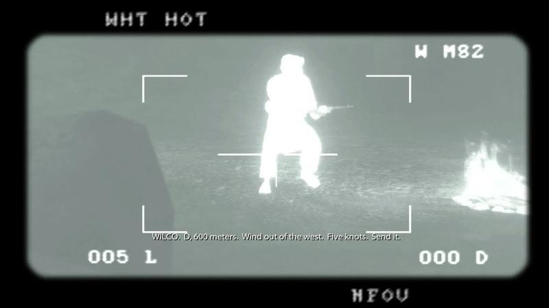 M107 .50 cal. กล้องจับภาพความร้อน ★ Medal of Honor 2010