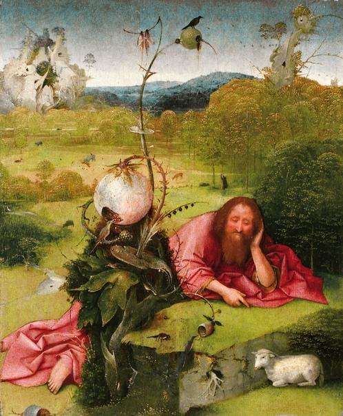 « одного шедевра». «Святой Иоанн Креститель в пустыне», Иероним Босх