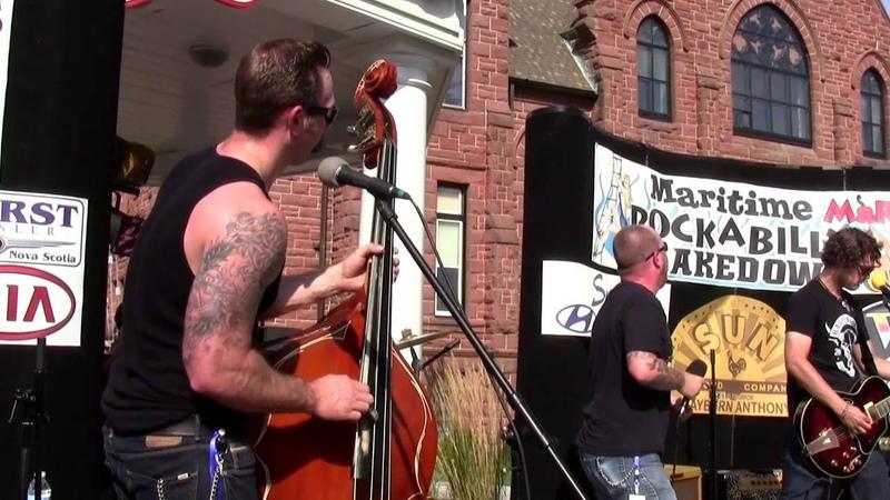 RockN Rebels Taste Your Blood at The Maritime Rockabilly Shakedown Festival 2012 MaRS1