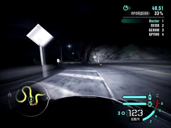 NFS Carbon - Mercedes-Benz SL65 AMG (Призовая) - Холмы (Спринт)