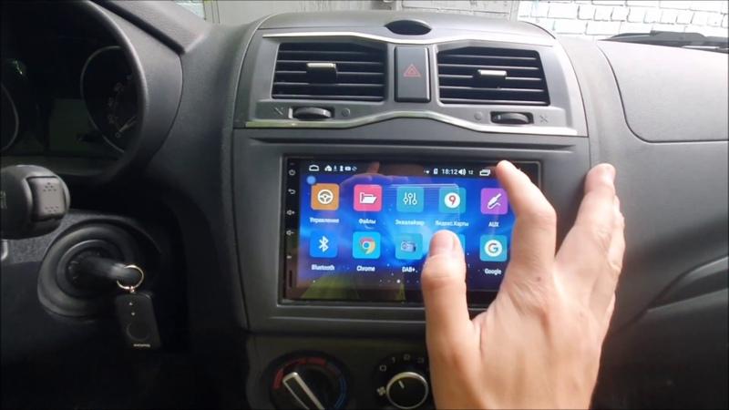 ДЕТАЛЬНЫЙ ОБЗОР 2 DIN МАГНИТОЛЫ LADA GRANTA FL 2019 на Android ММС