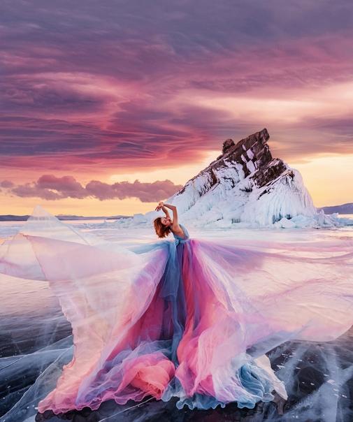 Волшебные пейзажи самого большого в мире пресноводного озера на фотографиях Кристины Макеевой