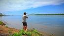 Рыбалка на Волге. ЗАКИДУШКИ на современный лад. САЗАН, КАРАСЬ. Макуха жмых. Рыбалка на мотоцикле.