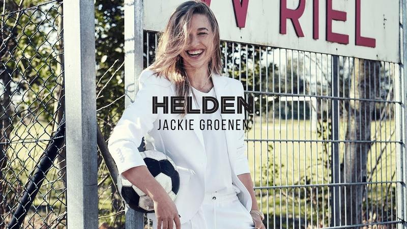 Helden 41 Jackie Groenen poseert als model in Helden 41