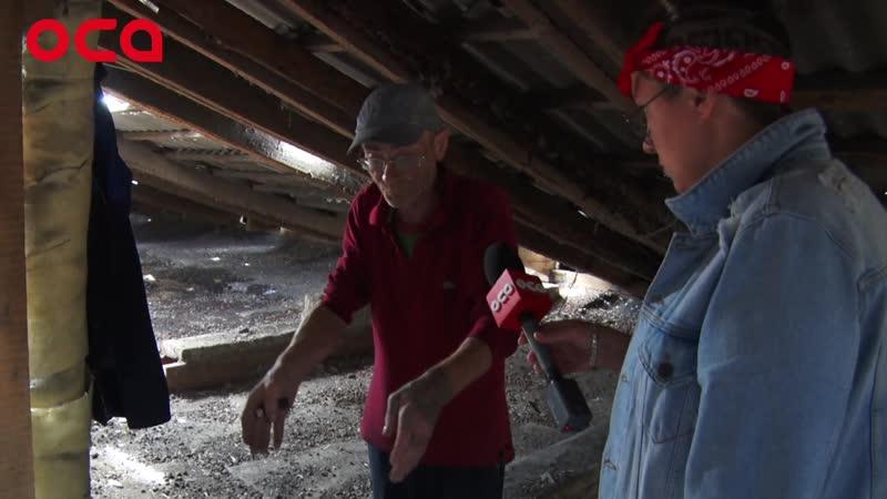 Главный по Ачинску. Общежитие на 3-мкр затопило от проливного дождя. Всему виной, кап.ремонт.