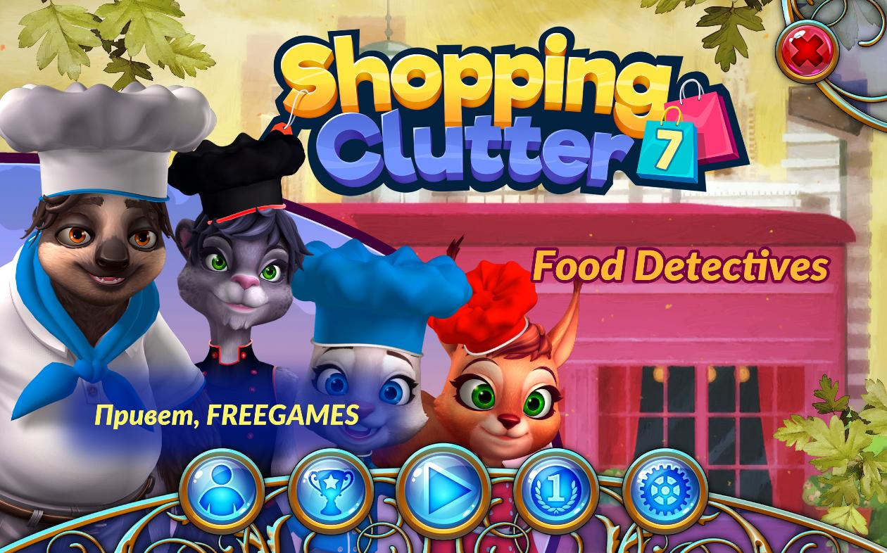 Shopping Clutter 7: Food Detectives (Rus)
