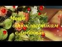 Одноклассницы мои одноклассники авт исп Владимир Цветаев автор видео Надежда Тихонова