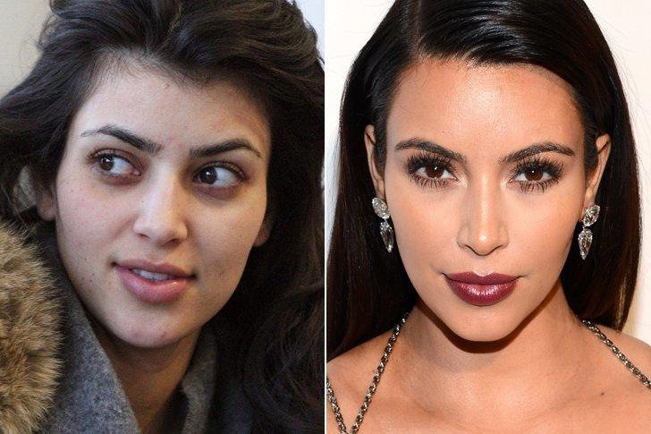 kim kardashian makyajsız fotoğrafı