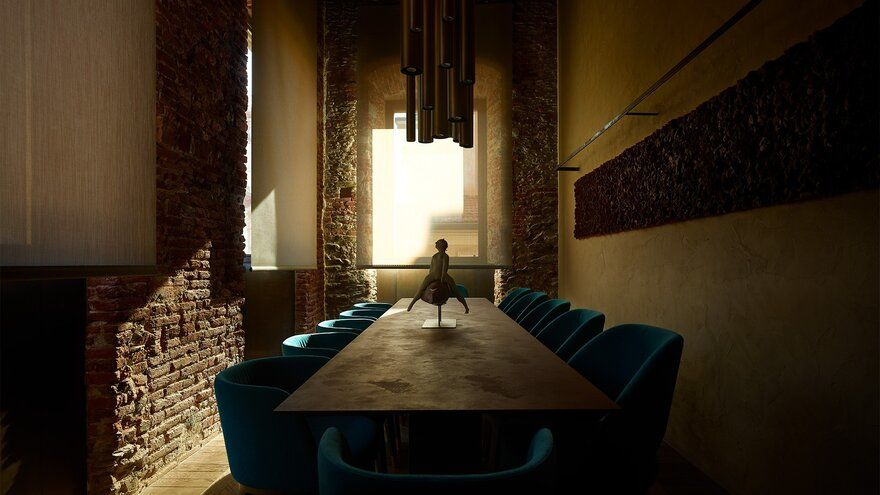Elegant Old Residential Building Transformed by Archea Associati into a Sumptuous Home