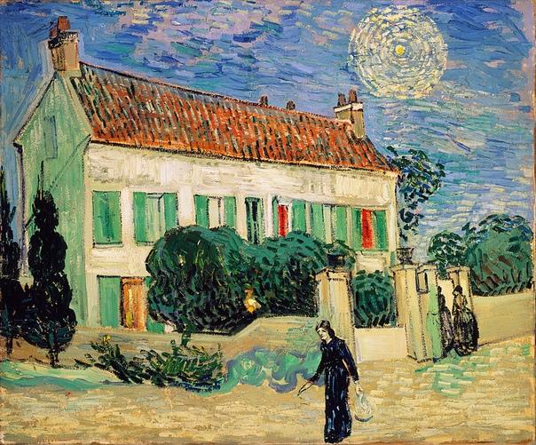 «Белый дом ночью», Винсент ван Гог