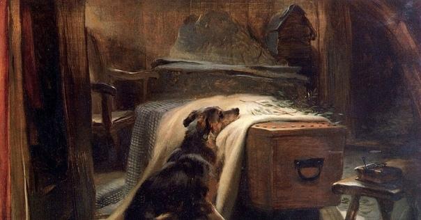 « одного шедевра». «Скорбящий о старом пастухе», Эдвин Ландсир