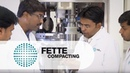 Fette Compacting Technology Efficiency from the market leader Fette Compacting