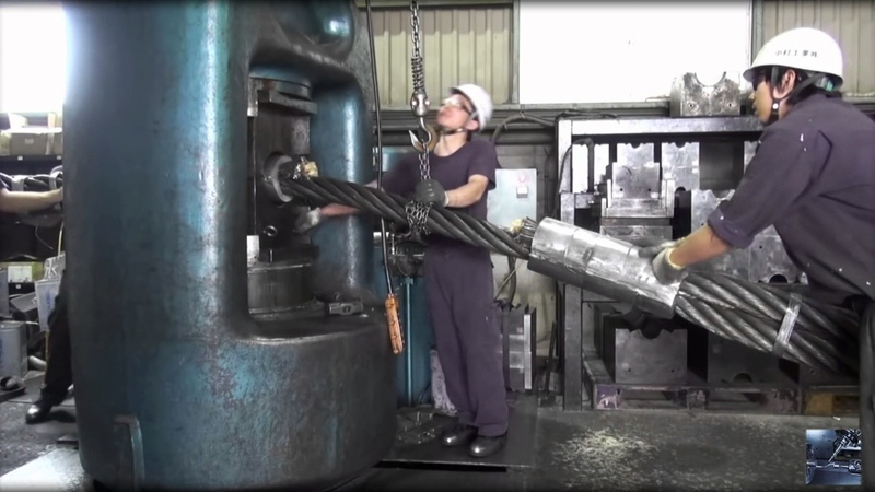 Heavy engineering | Inside the manufacturing plants steel wire rope slings