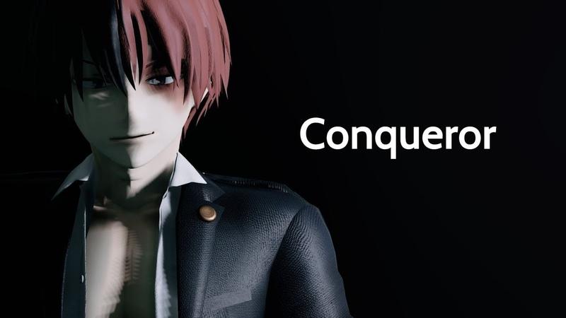 MMD Conqueror Villain Todoroki and Deku