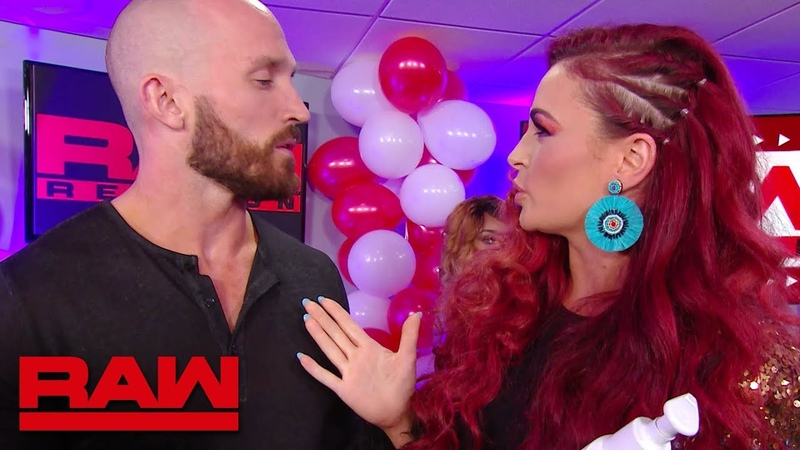Eric Bischoff and Eve Torres attempt to give advice to Maria Raw Reunion July 22 2019
