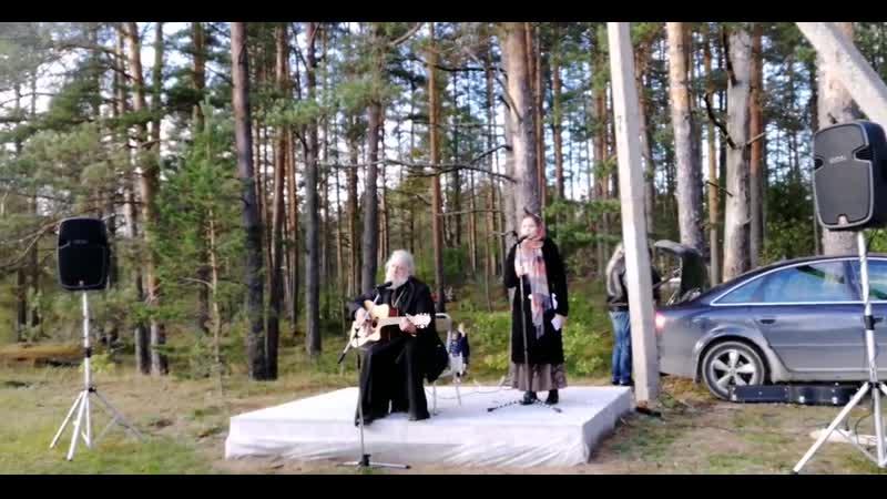 Священник Анатолий Першин и Александра Заречная. Петербургская колыбельная