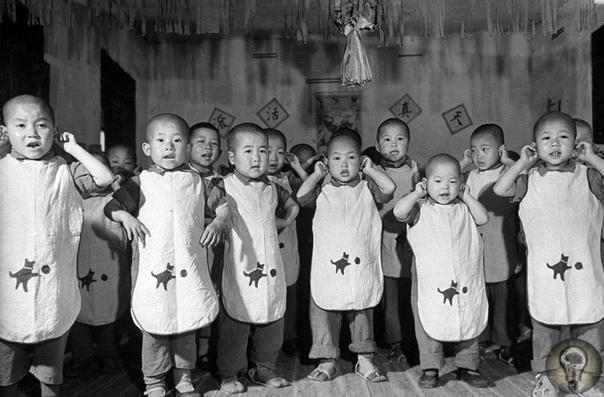 МАРГАРЕТ БУРК-УАЙТ: ВСЕГДА ПЕРВАЯ. Ч.-3 1. Вид с воздуха на самолет Douglas DC-4E, пролетавший над Манхэттеном. 1939 год 2. Китайские военные сироты, прикрывая уши ладонями, поют песню о