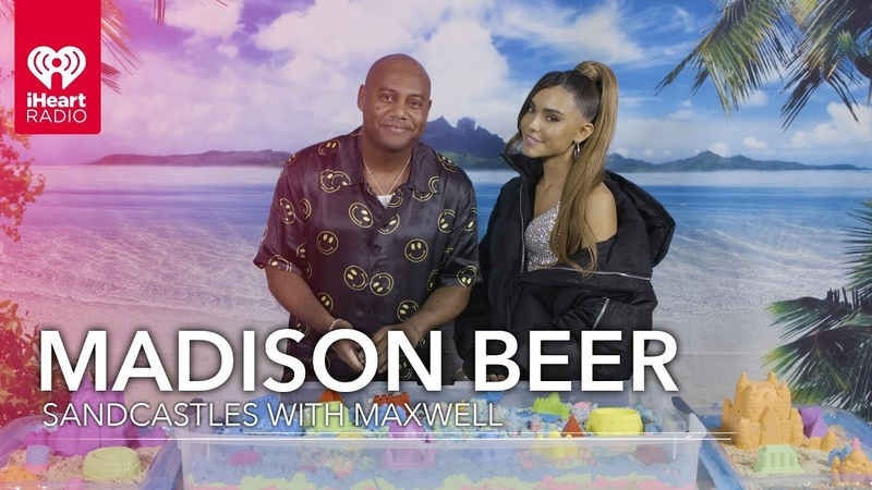 Madison Beer Builds Sandcastles With Maxwell! | Exclusive Interview